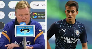 Koeman confirms his reaction to Barca not signing Eric Garcia in January