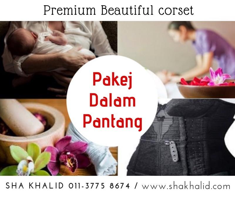 Pakej Premium Beautiful Dalam Pantang