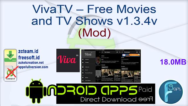 VivaTV – Free Movies and TV Shows v1.3.4v (Mod)