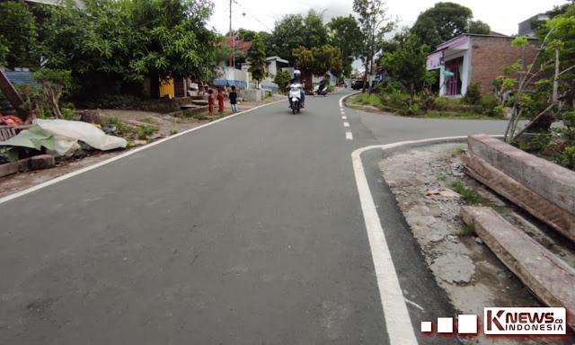 Sejumlah Ruas Jalan Dalam Kota Sinjai Selesai Dikerjakan Tahun ini