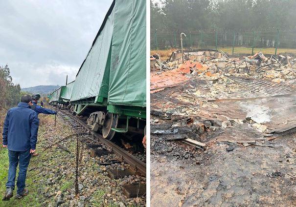 Atentados contra tren y radar del aeropuerto agudizan clima de violencia en La Araucanía