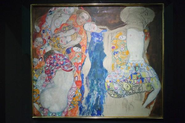 vienne modernisme viennois leopold museum gustav klimt mariée