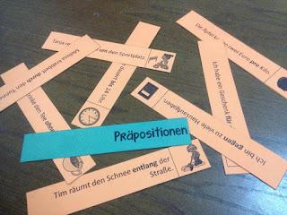 Fluency Strips mit Ptäpositionen