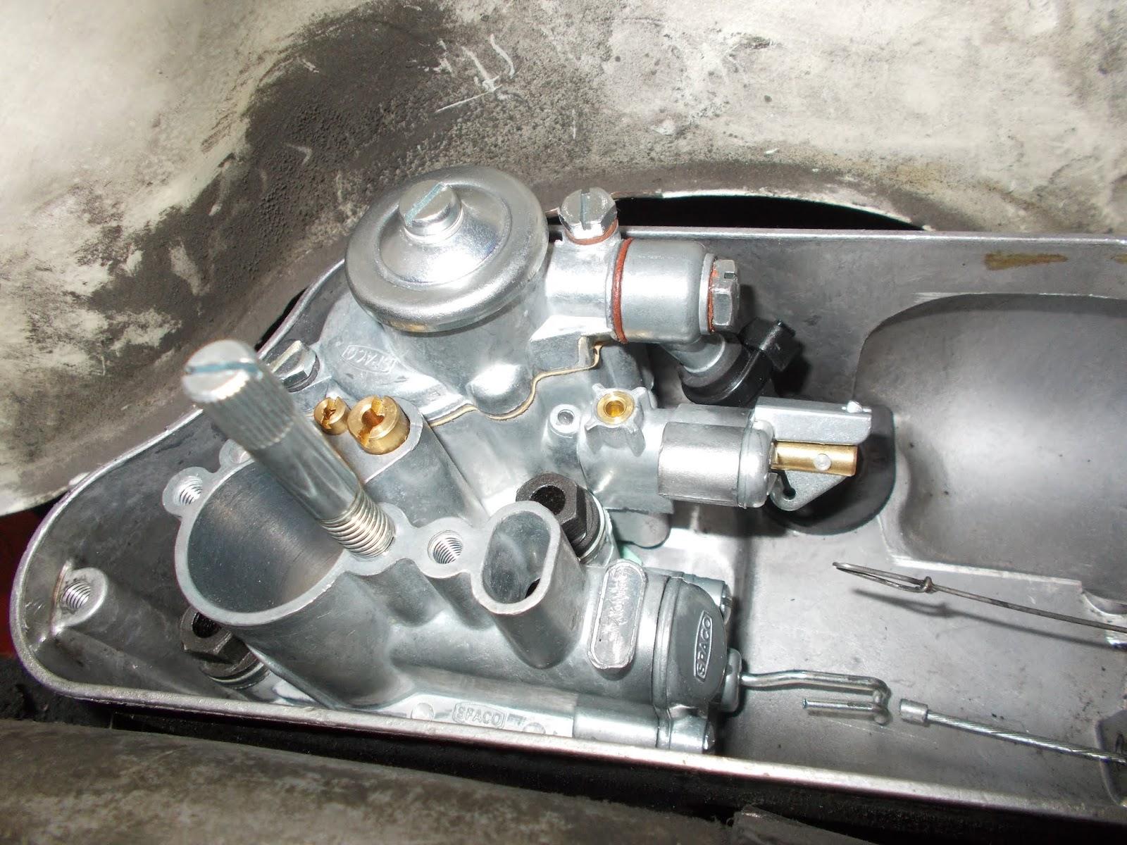 VESPA PX 200 disco genuino SPACO//Dellorto Carburador Junta Conjunto