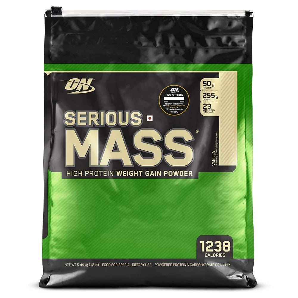 ON (Optimum Nutrition) Serious Mass, 12 lb