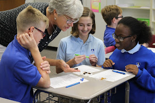 Montgomery Catholic 7th Graders Get Hands-On Lesson About Classification 1