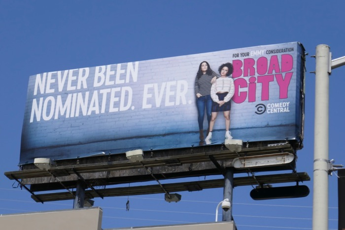 Broad City final season 5 Emmy FYC billboard