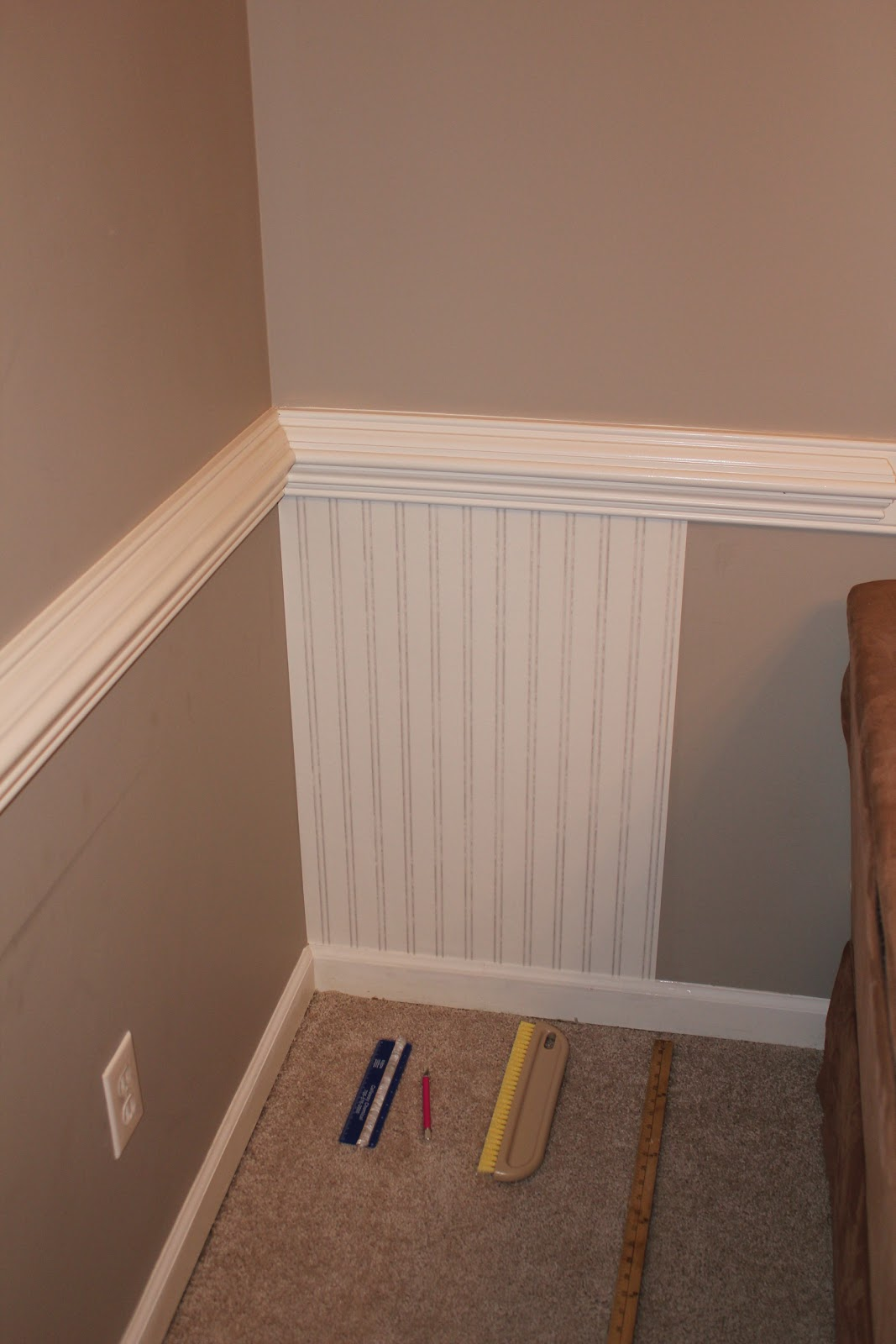 install beadboard wallpaper - photo #30