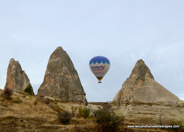 the finest hot air balloon in Cappadocia