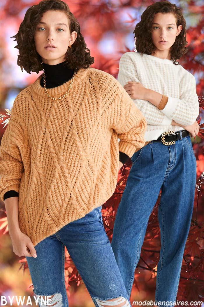 Tejidos otoño invierno 2020 sweaters mujer.