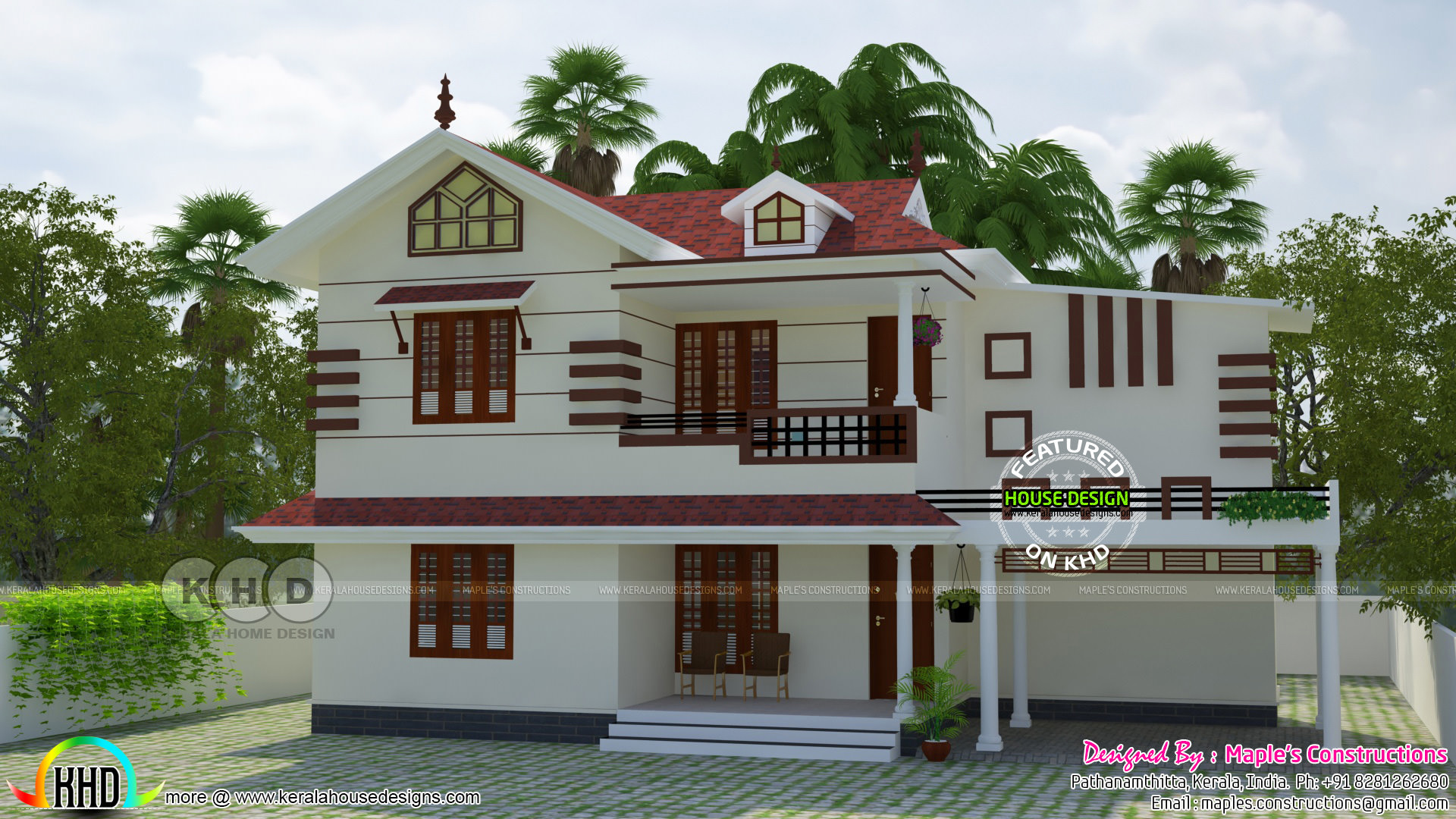 1841 square feet modern kerala style home modern kerala model house