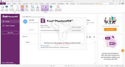 تحميل Foxit PhantomPDF Business تحرير وتحويل ملفات بي دي اف