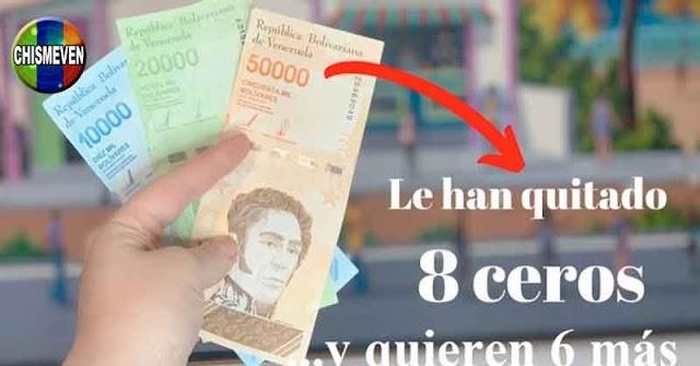 SIMÓN DEVALUADO | En Agosto le quitarán 6 ceros más al Bolívar Venezolano