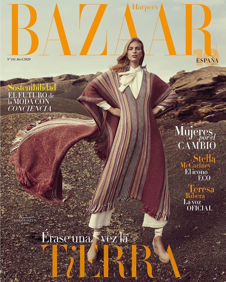 Vanessa Axente for Harper's Bazaar Spain April 2020