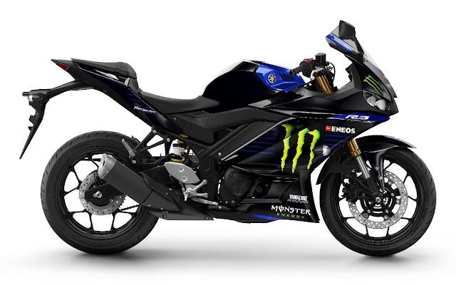 Yamaha YZF-R3 2020 Monster Energy MotoGP Edition - R$ 24.490,00+frete