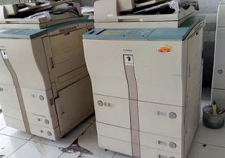 Cara Mengatasi You Must Insert a Control Card Fotocopy Canon ir 5000/ ir6000