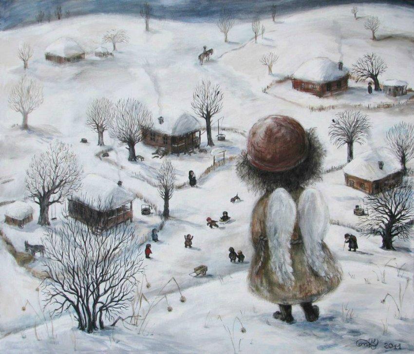 Квітневий настрій: Художница Нино Чакветадзе