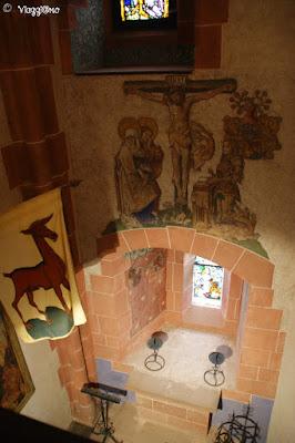 La Cappella del castello di Haut Koenigsbourg