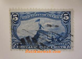 perangko antik untuk Koleksi
