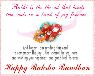 Raksha Bandhan Whatsapp Status for Sister