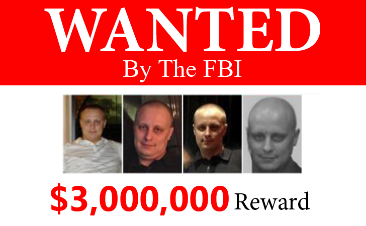 FBI Offers $3 Million Reward For Arrest Of Russian Hacker