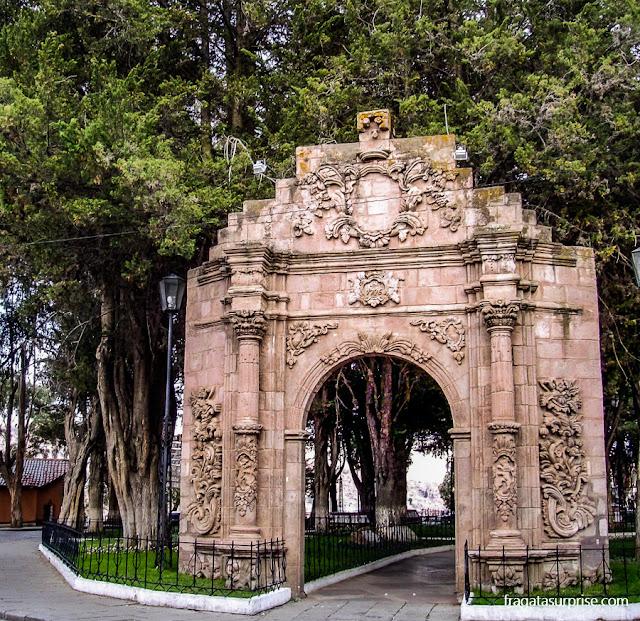 Parque El Montículo, em La Paz