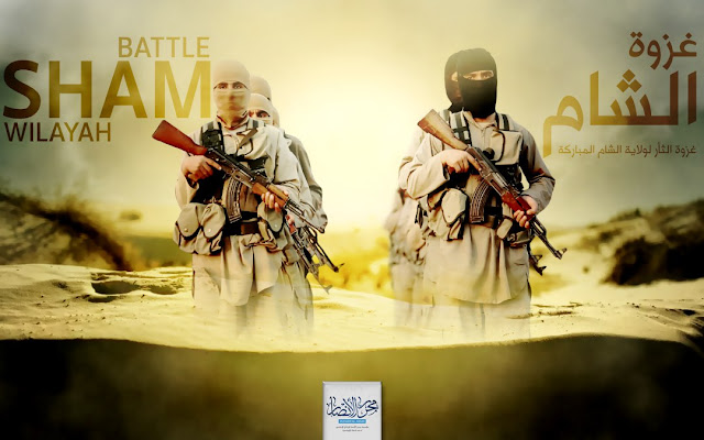 Image Attribute: IS linked media announces its global operation: Battle of Vengeance for blessed Sham Wilayah
