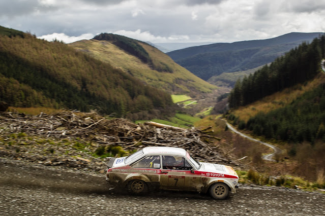 MK2 Ford Escort Rally Car