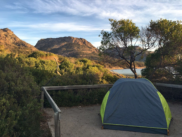 Camping Freycinet Coles Bay