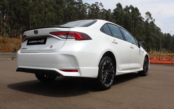 Toyota Corolla GR-S 2021 para o Brasil - fotos e detalhes