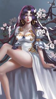 Anime Girls Mobile HD Wallpaper
