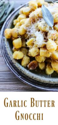 Garlic Butter Gnocchi