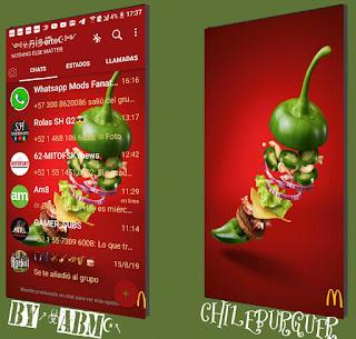 Chil Burguer Theme For YOWhatsApp & Fouad WhatsApp By ABM