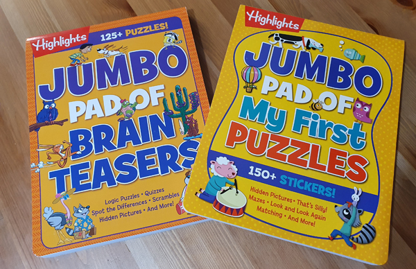 Highlights Puzzle Books for Kids