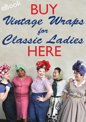 Vintage Wraps for Classic Ladies