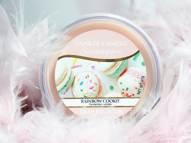 Avis Rainbow Cookie (Fantaisies sucrées) de Yankee Candle, blog bougie, blog beaute, blog parfum