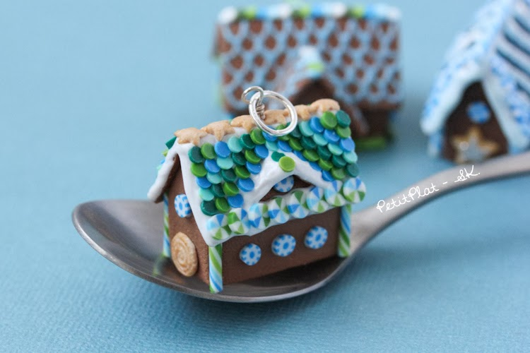 Gingerbread House Pendants More Of Them The Invasion