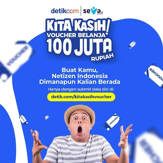 Media Ini Suruh Isi Data Pribadi Berhadiah 100 Juta, Netizen: Hati-hati, Nyari Data untuk Suara