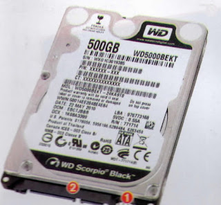 WD SCORPIO BLACK 500GB