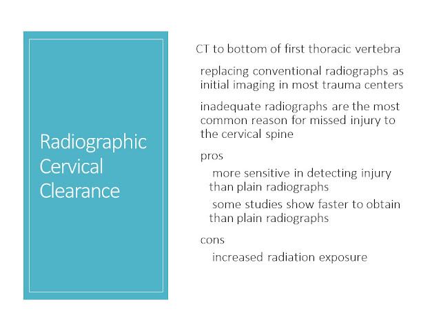 Management Cervical Spine Injuries