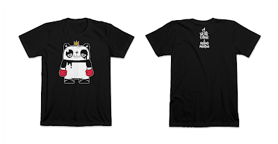 The Bear Champ Panda Edition T-Shirt by JC Rivera x Method Printing