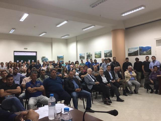 Φιλιάτες: Επιτυχημένη η ημερίδα για τους νέους αγρότες και τα ορεινά βοσκοτόπια παρουσία του Περιφερειάρχη Ηπείρου κ. Καχριμάνη