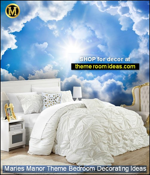 heaven clouds murals angel bedroom ideas angel bedroom decor white bedding clouds wallpaper