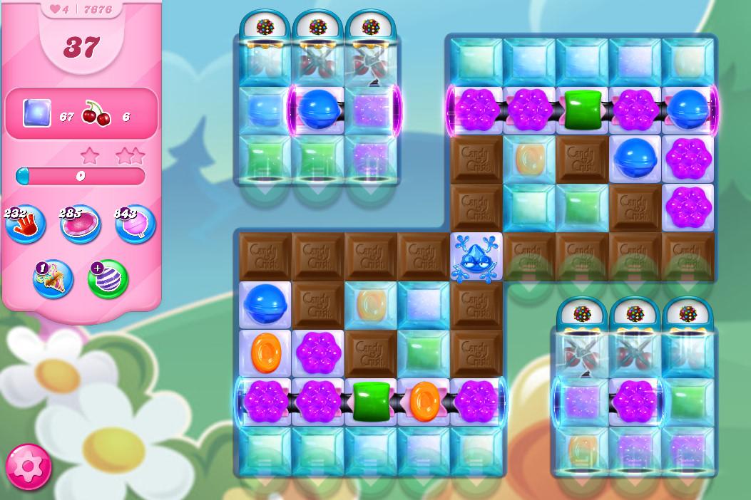 Candy Crush Saga level 7676