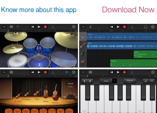 Download GarageBand for iOS