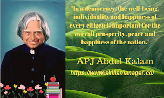 """In a democracy, the well-being, individuality and happiness of every citizen is important for the overall prosperity, peace and happiness of the nation."""