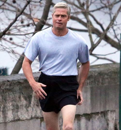 A ginástica de Brad Pitt
