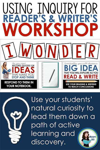 Reading and writing workshop in middle and high school English: use an inquiry approach.