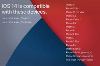 perangkat yang mendukung iOS dan iPad 14