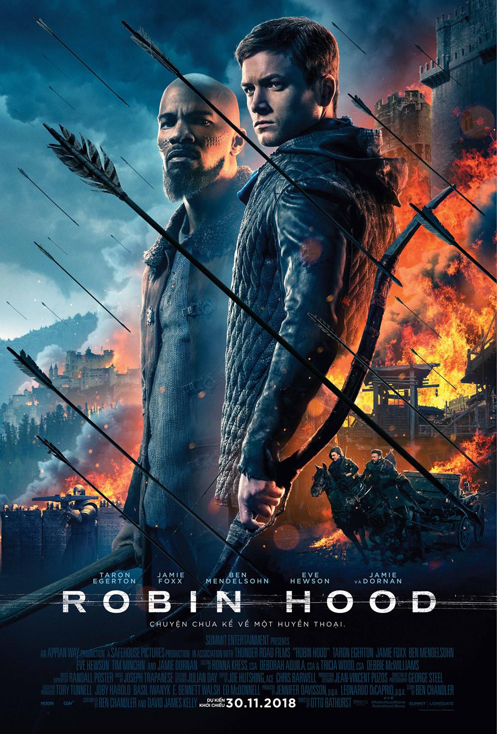 Siêu Trộm Lừng Danh Robin Hood - Robin Hood (2018)